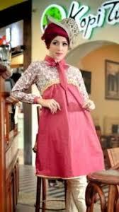 desain baju gamis hamil 12 desain baju hamil muslim modis tren masa kini