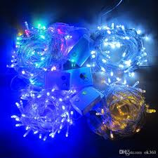 slow twinkling christmas lights 20m 30m 50m 100m 600 led string fairy lights xmas decor lights red