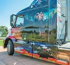 volvo truck 2017 volvo unveils ride for freedom truck the southwest times