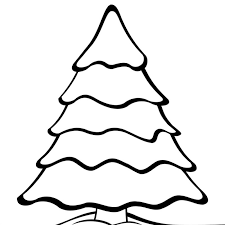 97 coloring page of christmas tree card template christmas
