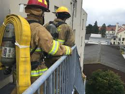 Firefighters Stair Climb by Climbing 2200 Steps In Memory Of Fallen Firefighters Kcaw
