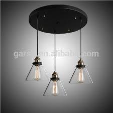 Pendant Lighting Glass Shades Glass Shade 3 Head Vintage Pendant Light Edison Buy Vintage