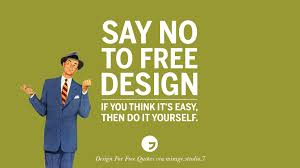 10 sarcastic design for free quotes for interior designers and