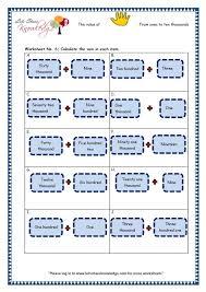 grade 3 maths worksheets 5 digit numbers 2 3 short form of 4
