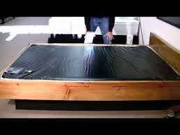 waterbed mattress ruby 4k youtube