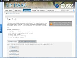nasa enterprise service desk tools lp daac nasa land data products and services