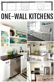 Ikea Kitchen Ideas Pictures Best 25 One Wall Kitchen Ideas Only On Pinterest Kitchenette