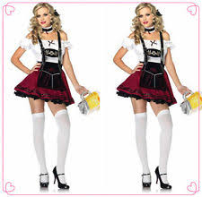 Beer Maid Wench Costume Oktoberfest Couple Gretchen German Fancy by Oktoberfest Costumes Ebay