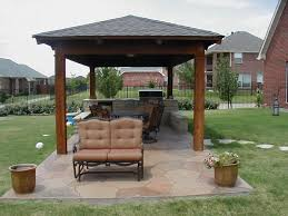 Gazebo Patio Ideas by Exterior Mini Covered Patio Ideas With Tufted Leather Chairs With
