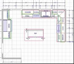 Open Kitchen Design With Island Kitchens D Kitchen Floor Plan Layout Withshape Collection Also
