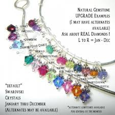 grandmother birthstone necklace sterling silver personalized sted birthstone necklace 2 names