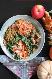 vegan thanksgiving menu course meal with dessert