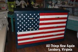 How To Paint American Flag Transforming Furniture You U0027re A Grand Old Flag American Paint