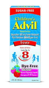amazon com children u0027s advil sugar free pain relief 4 ounce