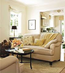 living room ethan allen couch cream leather sofa pottery barn