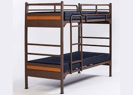 Intensive Use Residential And Dormitory Furniture - Heavy duty metal bunk beds