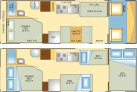 camplite 21rbs floorplan 24 feet long gvwr 5 000 lbs rv