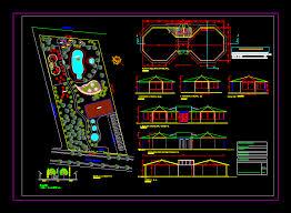 design center cad recreational center 2d dwg design elevation for autocad designs cad