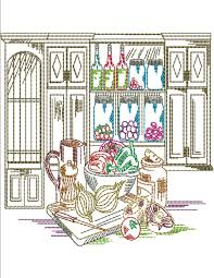 how to smartly organize your kitchen embroidery designs kitchen