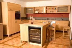 ilot cuisine bois cuisine contemporaine bois massif design ilot cuisine design