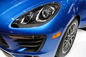 porsche headlights 2015 porsche macan first look motor trend