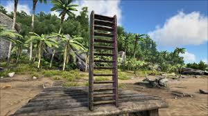 wooden ladder official ark survival evolved wiki