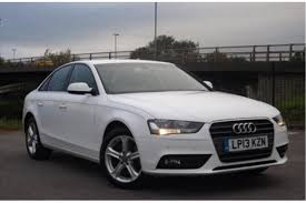 used audi a4 white for sale motors co uk
