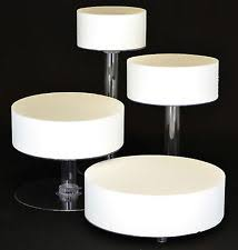 4 tier cake stand platinumcakeware 4 tier cascade wedding cake stand style 4a ebay