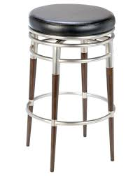 bar stool genuine leather counter height bar stools backless