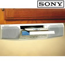 Sony Kitchen Radio Under Cabinet by Sony Under Cabinet Kitchen Cd Clock Radio