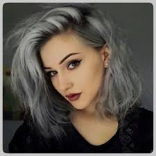 salt and pepper hair with lilac tips grey and purple hair tumblr is the unique photograph of hair color