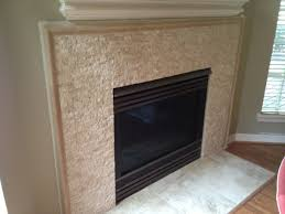 Travertine Fireplace Tile by Travertine Fireplace Remodel In Lakeway Tx Vintage Modern Design