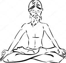 sketch of yogi u2014 stock vector mariaflaya 87449500