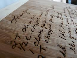 cutting board with recipe engraved 13 best laser cut wood exles images on laser cut