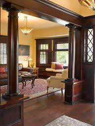 dark wood trim yellow walls dark hardwood trim pinterest