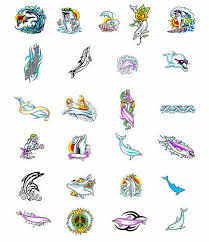 dolphin tattoos what do they mean dolphin tattoos designs