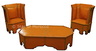 Moroccan Chair Moroccan Leather Furniture