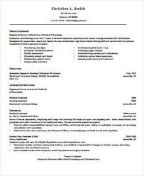Graduate Nurse Resume Templates 4 Sample Graduate Nurse Resume Examples In Word Pdf