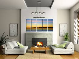 Decorative Simple Living Room Wall Decor Ideas Gorgeous Decoration - Living room wall decoration
