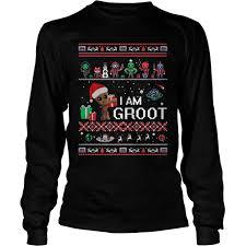 guardians galaxy i am ugl christmas sweater hoodie sweater