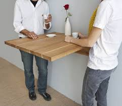 Wall Mounted Table Folding Wall Mounted Tables New The Ingenious Table From Mash Studios