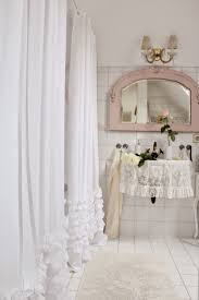 shower bathroom decorating ideas shower curtain wainscoting