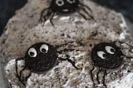 cookies and cream spider cake rhyme u0026 ribbons