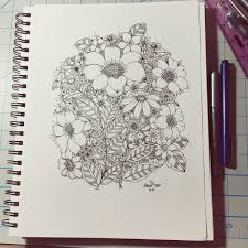 zen inspiration flower shapes zen doodles zentangle inspired doodles youtube