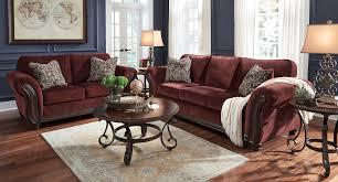 Burgundy Living Room Set Chesterbrook Burgundy Living Room Set Living Room Sets Living