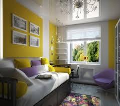deco mur chambre ado décoration murale chambre ado jaune lilas des idées de l