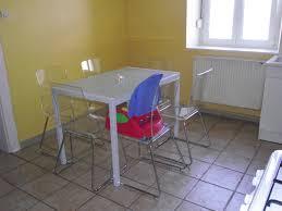 table de cuisine contemporaine table blanche cuisine table salle a manger contemporaine
