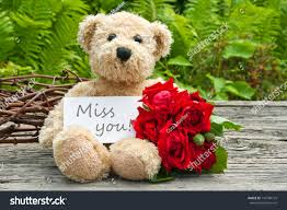 teddy bear writing paper teddy bear red roses card lettering stock photo 147700772 teddy bear with red roses and card with lettering miss you miss you teddy