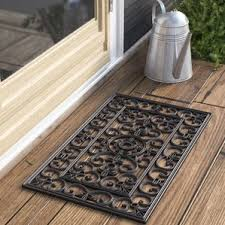 Old Becomes New With Coconut And Teak Tiles Made From by Welcome Mats Birch Lane