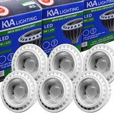 Led Light Bulb Mr16 by Kva Lighitng Cob Led Light Bulb Mr16 Gu5 3 5w 12v Dc Only Extra